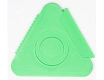 Škrabka trojuholník veľká Sheron 1ks