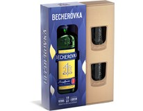 Becherovka 38% 1x700 ml + Glass mug