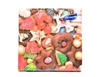 Harmony papierové obrúsky color ginger 1x20 ks
