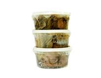 Fine Life Matjesové rezy s cibuľou v oleji chlad. 3x140 g