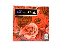 Servítky papierové Dunilin Romance 40cm Duni 12ks