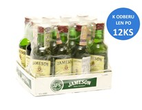 Jameson whisky 40% 12x50 ml (min. obj. 12 ks)