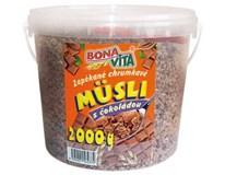 Bonavita Müsli zepekané čokoláda 1x2 kg vedro