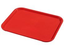Podnos obdlžnikový pp 36x46cm červený Metro Professional 1ks