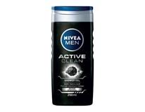 Nivea Men Active Clean sprchový gél pánsky 1x250 ml