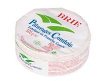 Brie Paturages syr s bielou plesňou na povrchu chlad. 1x500 g