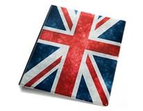 Blok A5 krúžkový karis vlajka UK 1ks