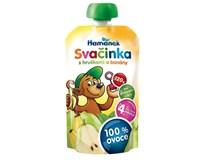 Hamé Hamánek Svačinka s hruškami a banánom 8x120 g