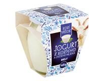 Kozí vŕšok Jogurt z kozieho a ovčieho mlieka biely chlad. 1x145 g
