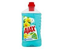 Ajax floral fiesta lagoon flowers modrý univ. čistiaci prostriedok 1x1 l