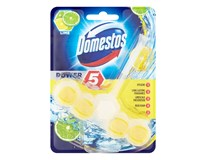 Domestos Power 5 Lime wc blok 1x55 g