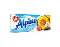 Alpino Rings raspberry&coconut white chocolate 1x150 g
