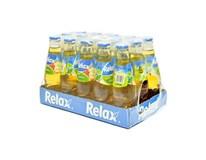 Relax džús jablko 100% 15x200 ml SKLO