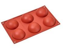 Forma na 6 pologulí silikónová Metro Professional 1ks