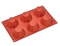 Forma na 6 muffinov silikónová Metro Professional 1ks
