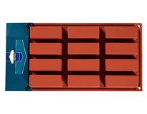 Forma na 12 cup-cake silikónová Metro Professional 1ks