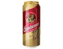 Gambrinus pivo 12% 4x6x500 ml PLECH