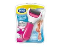 Scholl Velvet smooth el. pilník na chodidlá extra hrubý ružový 1x1ks