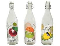 Fľaša Fruit Life 1l rôzne dekory Mäser 1ks