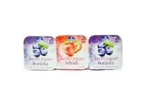 Grécky jogurt mix II 4% jahoda+čučoriedka chlad. 3x140 g