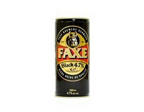 Faxe pivo black beer tmavé 4,7° 1x1 l PLECH