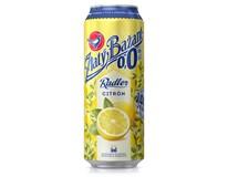 Zlatý Bažant pivo nealkoholické radler 0,0% citrón 6x500 ml PLECH