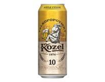 Velkopopovický Kozel pivo 10% 4x6X500 ml PLECH