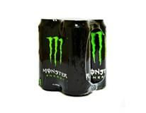 Monster Energy energetický nápoj 4x500 ml PLECH