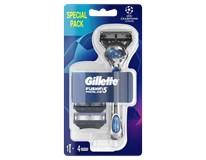 Gillette Proglide Flexball strojček + 4náhradné hlavice 1ks