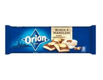 Orion čokoláda kokosová s mandľami mliečnobiela 1x240 g