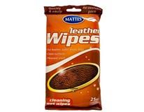 Mr. Mattes vlhčené utierky koža 1x25 ks