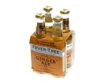 Fever-Tree Ginger Ale 4x200 ml nevratné sklo