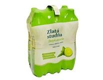 Zlatá Studňa Dotyk ovocia pramenitá voda limetka-mäta 6x1,5l PET