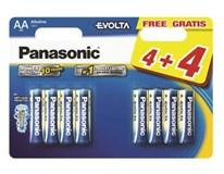 Batérie Evolta LR03EGE/8BW Panasonic 4+4 ks