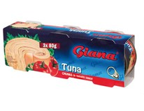 Giana Tuniak kúsky v paradajkovej omáčke 3x80 g