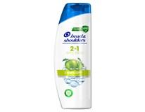 Head&Shoulders 2v1 Jablko šampón na vlasy 1x360 ml
