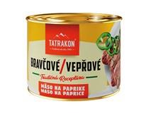 Tatrakon Bravčové na paprike 10x190 g