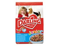 Darling junior hydina/zelenina/vitamin dry dog 1x8 kg