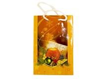 Taška na darčeky Vianočná 11x16cm 1ks