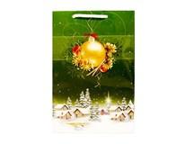 Taška na darčeky Vianočná 15,5x23cm 1ks