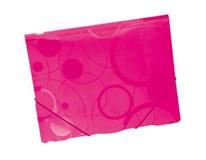 Dosky Neo Colori A4 s chlopňou a gumičkou ružový 1ks