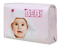 Bebi detské mydlo ružové 1x100 g