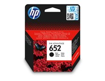 Cartridge 652  black HP 1ks