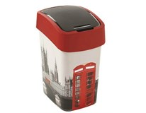 Odpadkový kôš Flip Bin 25l London 1ks