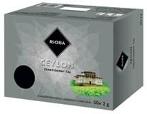 Rioba Ceylon čierny čaj 50x2 g