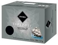 Rioba Earl grey čierny čaj 50x1,5 g