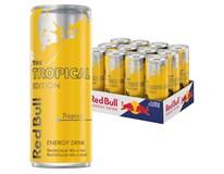 Red Bull Tropical edition energetický nápoj 12x250 ml PLECH