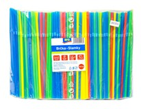 Slamky ohybné mix farieb ARO 500ks