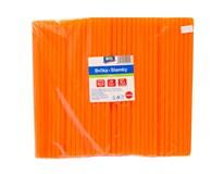 Slamky Jumbo oranžové ARO 250ks