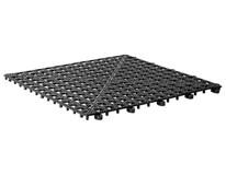 Odkvapkávacia podložka 33x33cm čierna APS 1ks
